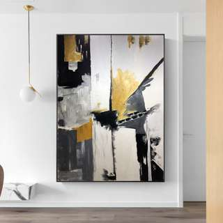 🚚 Abstract Art Oil Painting 75cm x 100cm