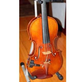 Ming Jiang Zhu 909 Violin with Bam Case