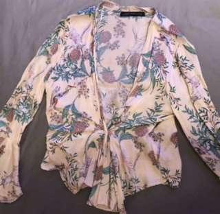 Zara Silk Blouse