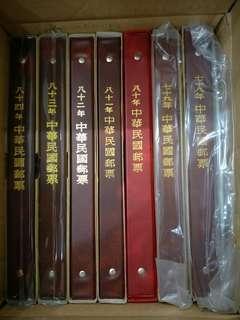 中華民國郵票/78年~106年 中華民國郵票冊(共30冊)/首日封(3種版本共136張)/不拆賣