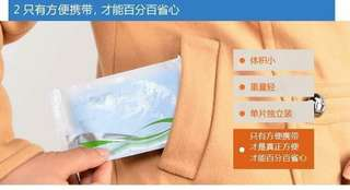 TraveLLing disposabLe toiLet cushion