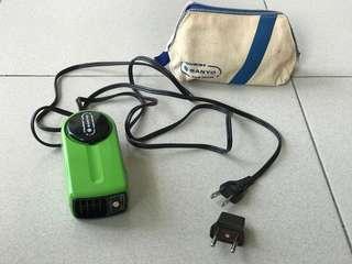 Sanyo Tourist hair dryer - dual voltage