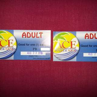 Ace Water Spa Adult Ticket