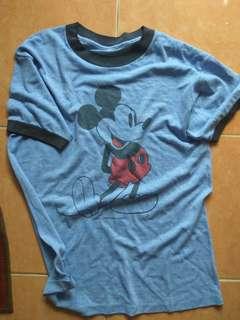 Mickey vtg ringer