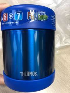 Brand new Thermos blue food container