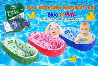 NEW INFLATABLE BABYBATH TUB