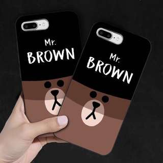 iPhone Case Line Friends 手機殼 預訂