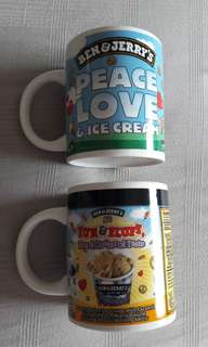 Ben & Jerry's cups