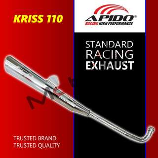 APIDO KRISS 110 STANDARD RACING EXHAUST
