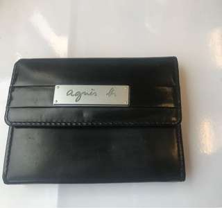 Agnes B coins bag card holder