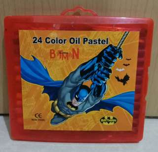 Crayon 24color Oil Pastels Batman
