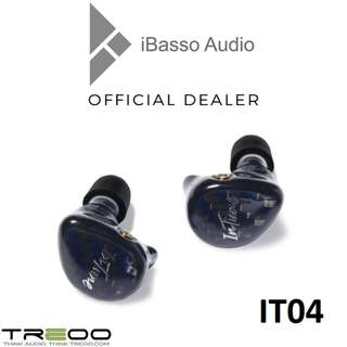 iBasso IT04 Quad-Driver (3BA+1D) Hybrid In-Ear Earphones