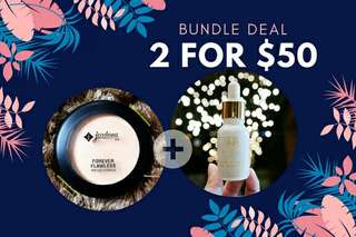 Bundle Deal - Jordana Pressed Powder + Hyrah Magani