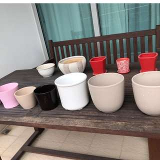 Various Pots for Plants