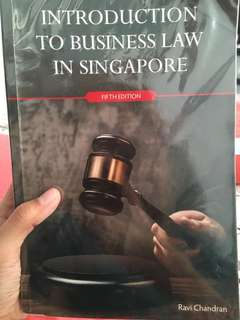 BSP1702/BSP1004 Introduction to Business Law in Singapore