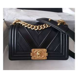 Authentic Chanel Small Boy Limited Edition
