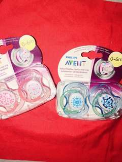 AVENT SOOTHER 0-6M