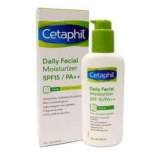 Cetaphil daily moisturizer spf15