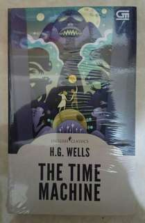 Novel English Classics H.G Wells The Time Machine