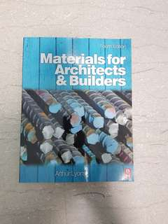 Materials For Architects & Builders