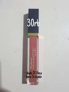 purbasari hi matte lip cream (shade 01)