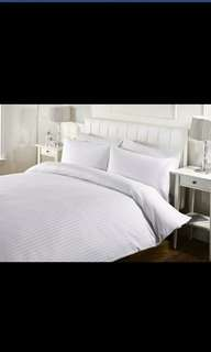 4 in 1 Beddings with Satin Stripe