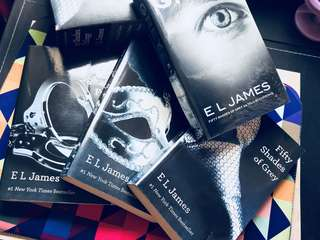 Fifty Shades Trilogy + Grey