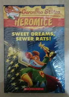Novel Anak Import Geronimo Stilton Heromice Sweet Dreams, Sweet Rats!