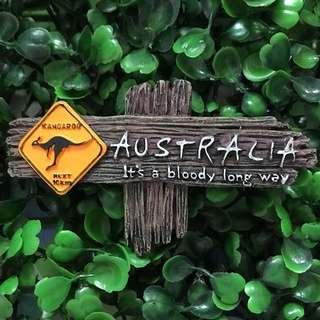 Australia souvenir ref magnet