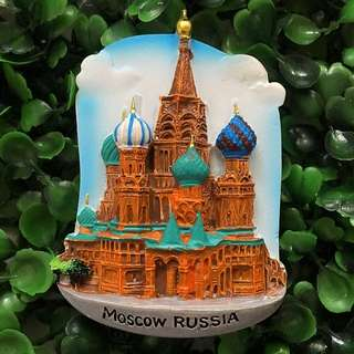 Moscow Russia souvenir ref magnet