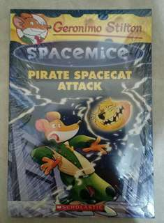 Novel Anak Import Geronimo Stilton Spacemice Pirate Spacecat Attack