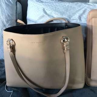 Colette Hayman bag with laptop case