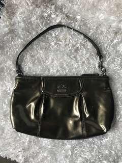 Authentic coach shoulder n clutch bag