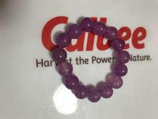 紫玉珠手鍊 13mm