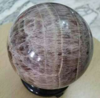 Crystal brown Ball