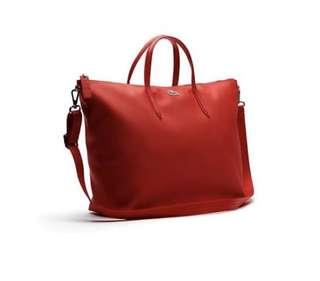 (NEW ORIGINAL) Lacoste Women Tote Bag (Large two side) Waterproof