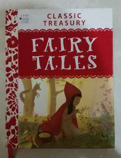 Buku Cerita Anak Import Classic Treasury Fairy Tales Miles Kelly