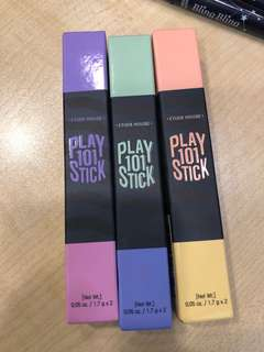 Etude House Play 101 Stick x 3