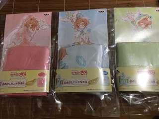 百變小櫻 一番賞 F賞 毛巾 Twinkle Color Collection 包郵