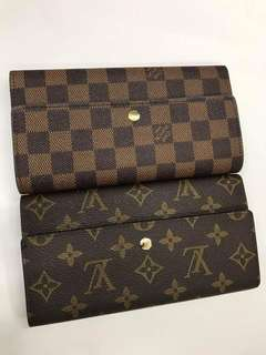 SuperSale! Louis Vuitton Long Wallet