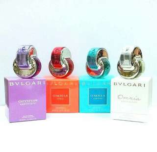 Authentic Bvlgari Perfumes