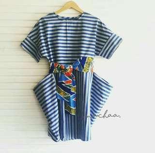 Dress Batik Lurik