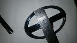 Scion logo 12cm wide 8cm height
