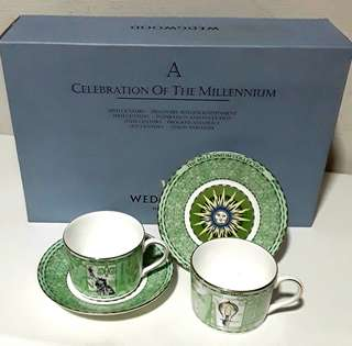 WEDGWOOD 'A CELEBRATION OF THE MILLENNIUM' TEA SET