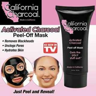 California Charcoal Peel Mask
