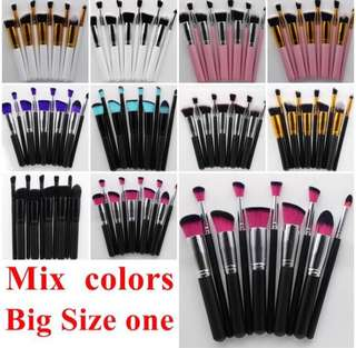 🚚 10pcs brushes