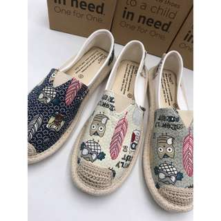 TOMS OWL Design Shoes