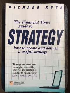 The financial times guidThe Financial Times Guide to Strategy by Koch, Richard Paperback