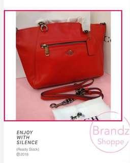 🎀SALE! 💯% Authentic Coach Women Kelsey Crossbody Sling Handbag @ Red >> Ready Stock!