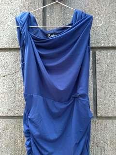 ✨Rohini Blue Bodycon Dress
